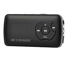 """Aluminum alloy + plastic 1.1""""OLED MP3 Player w/Mini USB/TF/3.5mm Black + Silver"""