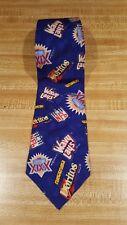 Vintage 1994 Superbowl Doritos Wavy Lays Tie Blue