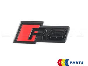 Neuf Original Audi R8 4S Avant Pare-Choc Radiateur Grille Emblème Logo