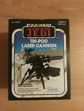 STAR WARS RETURN OF THE JEDI TRI-POD LASER CANNON KENNER SEALED RARE!!!