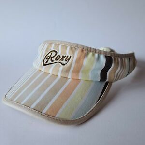 Roxy Women's Stripe Vintage Visor Cap Hat
