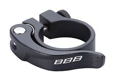 Smooth Lever Seat Clamp With Quick-Lift Quick-release lever 34.9mm Black BSP-87