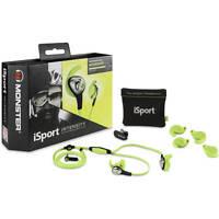 Monster iSport Intensity In-Ear Headphones Green - Brand New in Sealed Box