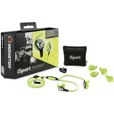 Monster iSport Intensity In-Ear Headphones Green - Brand New in Sealed Box