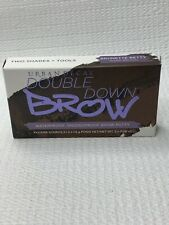 URBAN DECAY  DOUBLE DOWN BROW TWO SHADES + TOOLS Brunette Betty Warm Brown