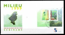 Suriname - 1999 Natural reserve - Mi. Bl. 76 clean unaddressed FDC