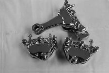 Harley CHROME DYNA CALIPERS  Package Deal  FITS 2000 TO 2007 DAUL DISC