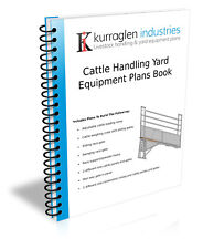 Plans Book Cattle Handling Equipment, Loading Ramp, Weigh Crate, Panels & Gates
