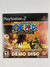 PlayStation 2 One Piece: Grand Battle Demo Disc 2005 PS2 Shonen Jump NEW SEALED