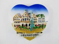 Frankfurt Römer Deutschland Stadt Ansicht 3D Poly Magnet Souvenir Germany