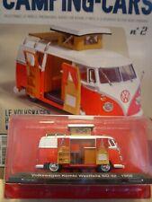 VOLKSWAGEN Kombi Westfalia 1966 Camping Car 1/43 Hachette