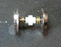MBT/Roco H0,4 NEM-Radsätze o.Haftreifen,12mm Durchm. m.Zahnr.Z=14 u.je 2 Buchsen
