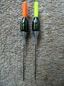 2 x Maver Series 7 plus pole floats 0.3g Red or Yellow tip