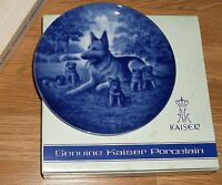 """KAISER W. GERMANY """"MOTHER'S DAY 1975"""" PORCELAIN PLATE IN BOX! 7 5/8""""DIAM"""