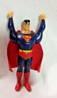 Superman Action Figure 3.5 inches 1997 DC Comics for Burger King Toy