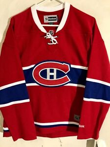 Reebok Women's Premier NHL Jersey Montreal Canadiens Team Red Alt sz L