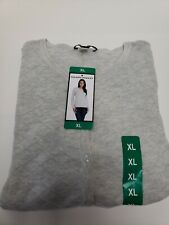 HILARY RADLEY BUTTON DOWN LADIES SWEATER XL NEW