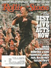 AUGUST 15 2013 ROLLING STONE MAGAZINE BRUCE SPRINGSTEEN BORN TO RUN THUNDER ROAD