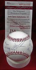 Doc Gooden Signed Auto OML Baseball STATBALL W/8 Inscriptions - JSA WP382959