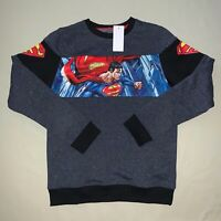 Boys size XL X-Large Superman Pullover Sweatshirt Nwt