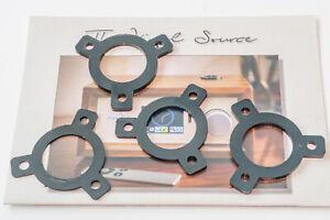 Rega 3 point mounting VTA Adjustment Spacer Shim Setof 4. 1x1mm 1x2mm 2x3mm