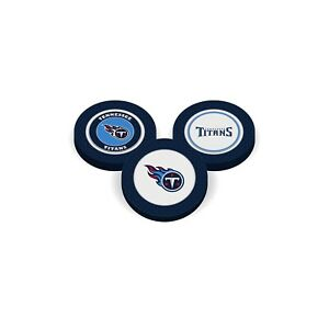 Team Golf 3 UNITS Tennessee Titans Poker Chips With Magnetic Ball Marker 2 Sides
