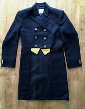 NEW Ladies Ovation Dressage Shadbelly Show Coat - Size 14 Black / Weighted Tails