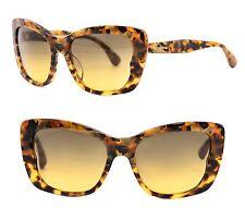 MIU MIU Butterfly Women Sunglasses SMU 03O-A MAN-1F2 Havana Brown Yellow