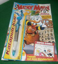 Micky Maus Magazin Nr 38 2012 Die Ducks in Deutschland Mit Extra