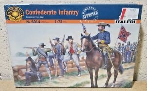 Italeri > Civil War Confederate Figure Set, 1:72 Scale [6014]