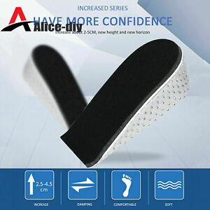 Lift Insert Shoe Pad Height Increase Cushion Elevator Tall Insole Heel B2AD