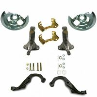 64-72 GM A-BODY CHEVELLE EL CAMINO MONTE CARLO SKYLARK CUTLASS F85 442 VISTA CRUISER GTO LEMANS TEMPEST SOUTHWEST SPEED STOCK REPLACEMENT SPINDLES /& STEERING ARMS FOR DISC BRAKES STEERING KNUCKLES