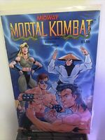 Midway MORTAL KOMBAT Collector's Edition Comic Book 1992 Limited Edition + Bonus