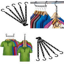 10pcs Space Saver Saving Hanger Clothes Wonder Magic Closet Organizer Hook