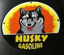 Husky Oil Gasoline gas sign