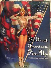 The Great American Pin-Up Taschen Art Book Hardcover Girls Charles Martignette