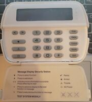 Used And Works DSC LCD4020 MAXSYS Alarm Keypad