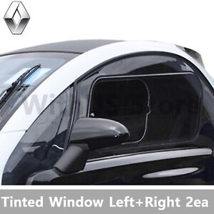 Tinted Window Left+Right 2EA Set for Renault Twizy Genuine Parts Number 82090483