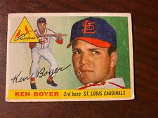 1955 Topps #125 Ken Boyer RC St. Louis Cardinals Original