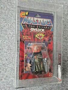 MASTERS OF THE UNIVERSE GWILDOR 1986 AFA 75 GRADED MOTU HE-MAN