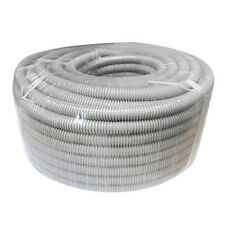 ELECTRICAL New Cable Corrugated Conduit 20mm x 25 m Roll Grey, postage free!