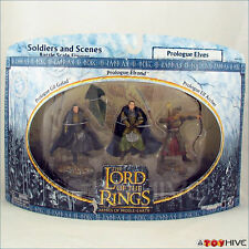 LOTR AOME Prologue Elves soldiers and scenes 3 pack
