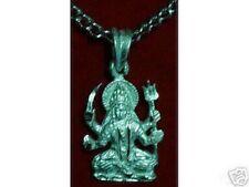 COOL 0214 Hindu Santoshi Mata OM Sterling Silver Charm