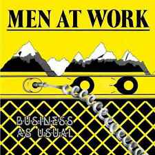 MEN AT WORK - Business As Usual (LP) (EX-/VG)