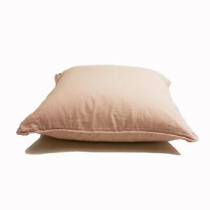 Large Rose Linen cushion / Square cushion