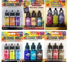 Lot of 18 - TIM HOLTZ ADIRONDAK RANGER ALCOHOL INKS Lot NEW  No Duplicates!