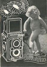 Rolleiflex opuscolo illustrativo 1939 in italiano E706