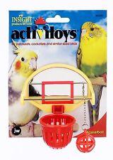 Jw Pet Activitoy Birdie Basketball Bird Toy