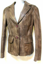 Unbranded Leather Regular Size Coats & Jackets for Women