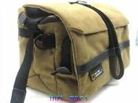 Canvas DSLR Camera Messenger Shoulder Case Bag For Nikon Sony Canon Pentax fuji